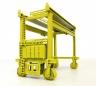 Mi-Jack intermodal crane