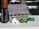 New Modern Tractors in resin cast