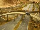 Scratch built rail and overpass bridges