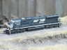 Norfolk Southern SD70M Phase II Flared