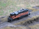 Milwaukee Road GP9 Phase II