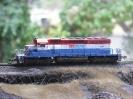 BC Rail SD40-2