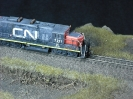 CN GP9RN with Yard Slug
