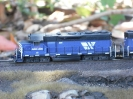Blue(s) Brothers: MRL SD40-2 + 2x GP35