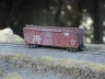 NYC Single Sheated Boxcar