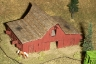 Laser cut barn