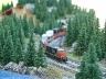 intermodal train entering lake louise siding
