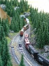 grain train waiting for the meet