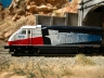 AZL Dallas Tre EMD F59PHI leaving Tunnel west