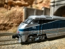 AZL Amtrak west EMD F59PHI leaving Tunnel west