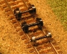 steel wheelset - close up
