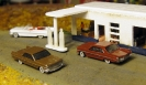 Desert\'s diorama progress and cars