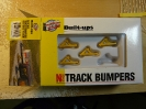 Walthers N scale bumpers for Z scale