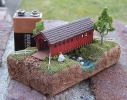 Covered Bridge diorama