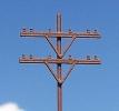Z Telephone Poles