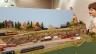 David's layout at Lansing mi train show