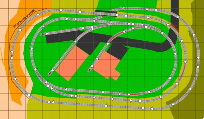 Final adjustments to plans of 48x28 layout