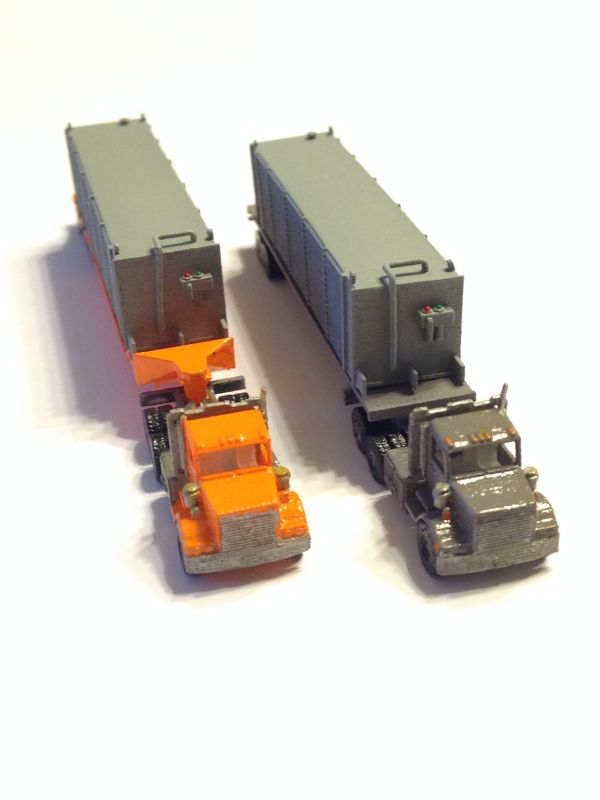 KW trucks and trailer with mobile Generator