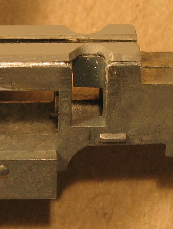GP35 - motor wires cut-outs close-up