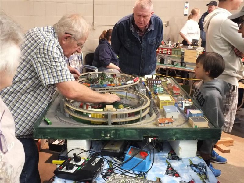 Lansing, MI MSU Pavilion Model Train Show