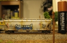 AZL Hopper with Graffitti and Weathering