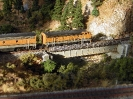 Evening DRGW Coal Drag over the Truckee