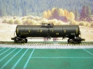 Weathered Funnel Flow Tank Car