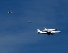 Space Shuttle Endeavour - LA Fly Over