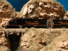 AZL SD40T-2 over the