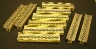 Ten Brass Etched 79' Box Girder Bridges