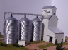 Metal Siding Grain Elevator