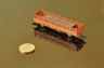 Rlmms58 scratch build z scale painted - Selbstbau Rungenwagen Spur-Z