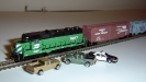 My first American Z Scale Train :-)