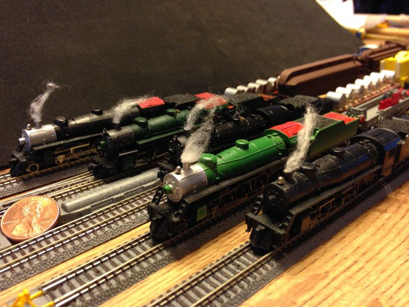 My Fleet of Steam Engines