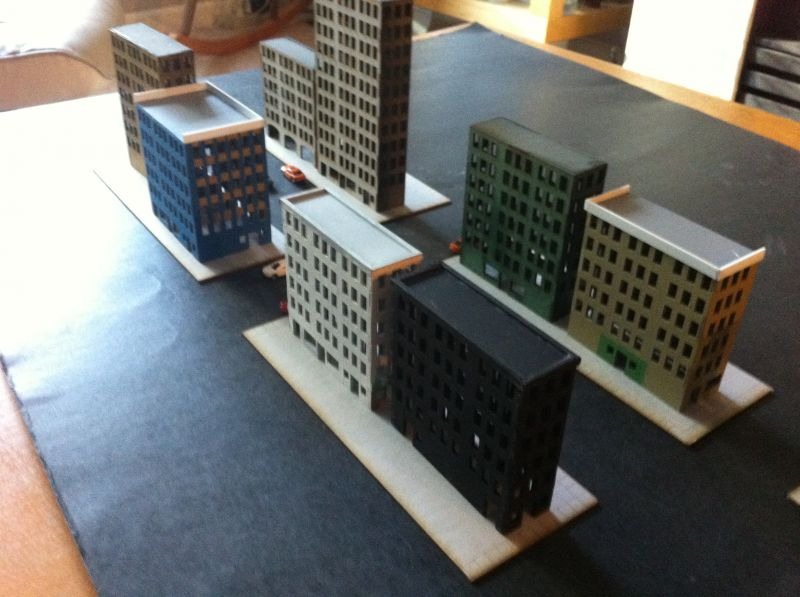 game crafters 1/285 scale buildings