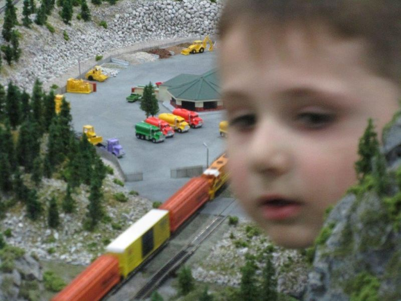Kids love trains
