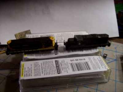 comparison with a stock GP9