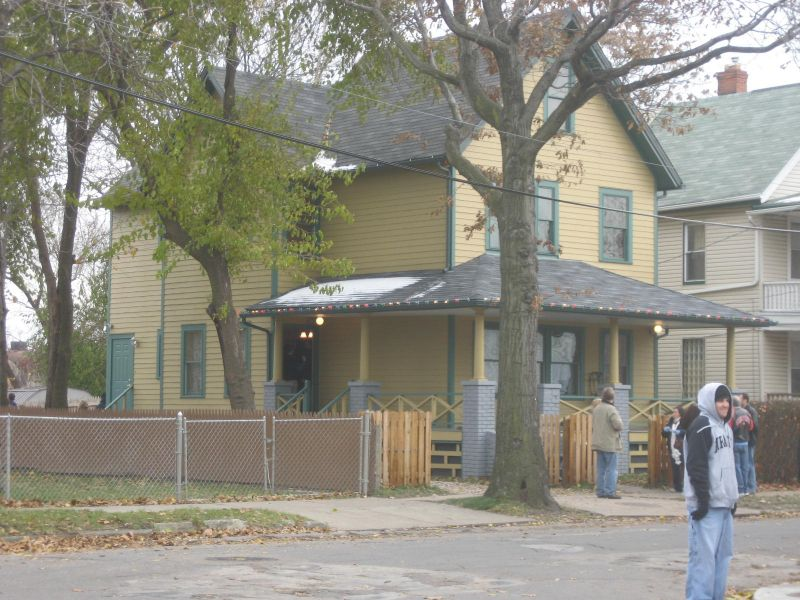 The REAL Christmas Story House